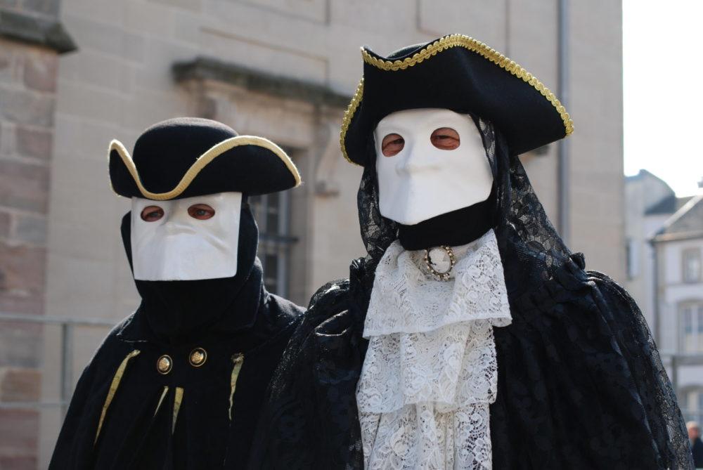 Carnaval vénitien Remiremont AL - 2 de nos Casanovas en GP