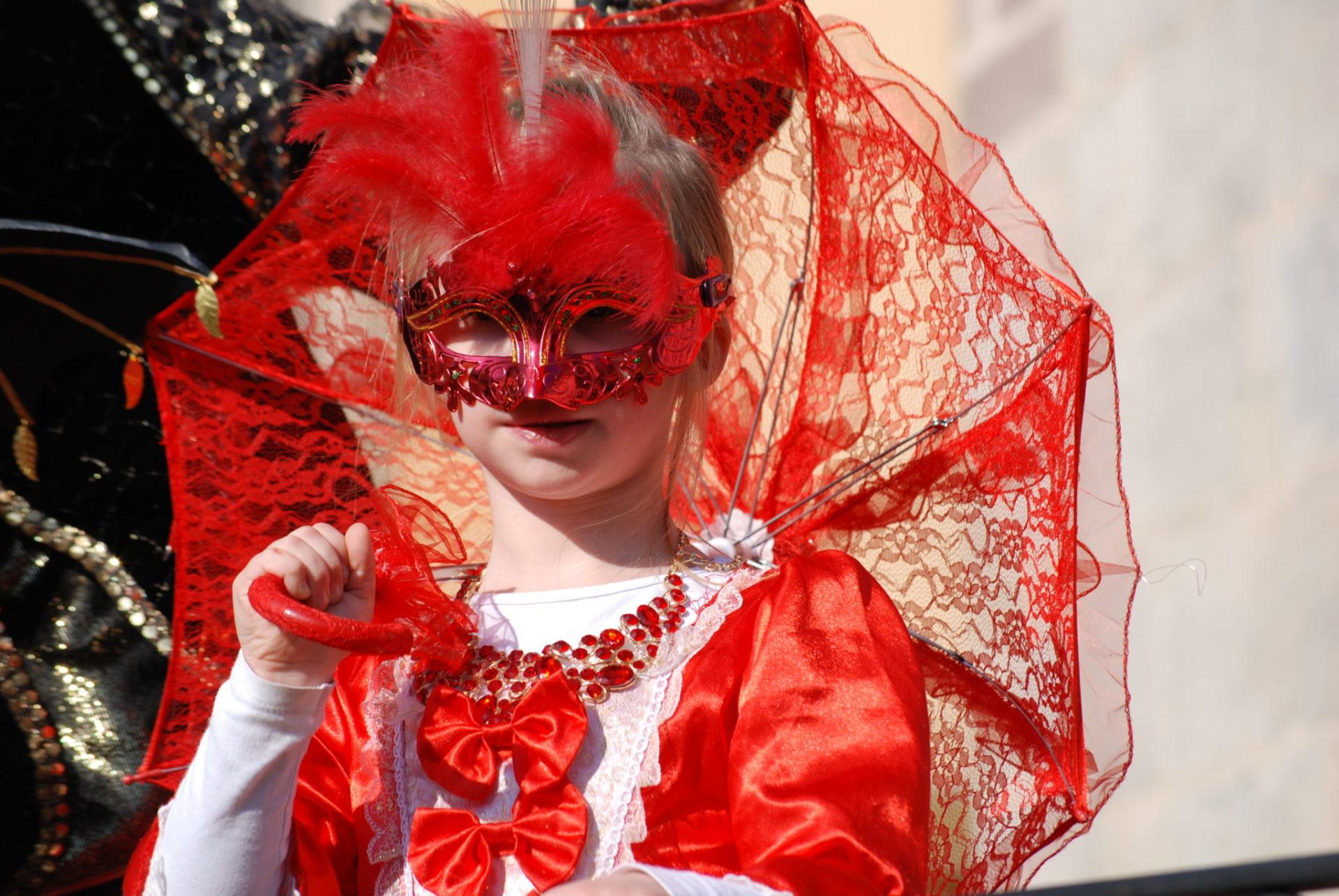 Petite marquise en rouge - Photo A.Leclerc