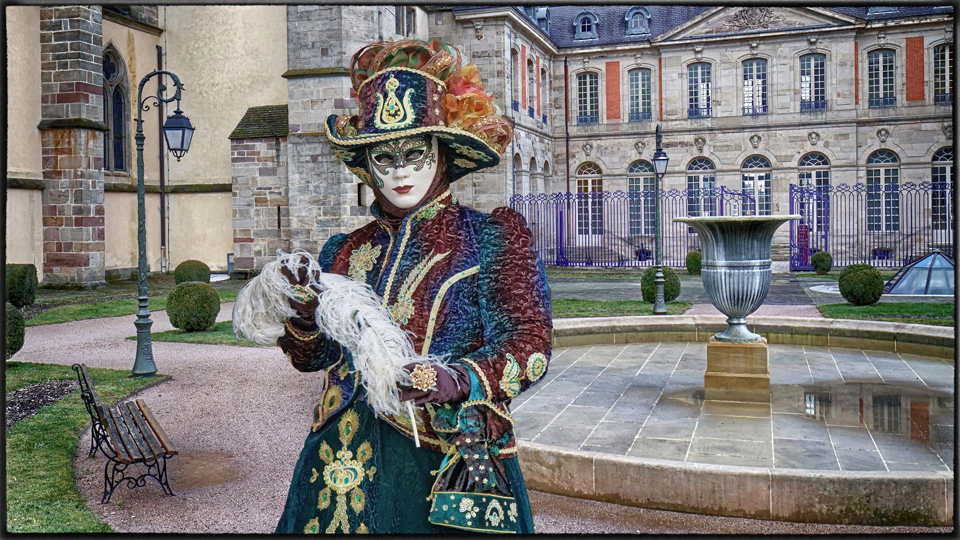 Dame Monique parc de Medames - Photo J.Monnin