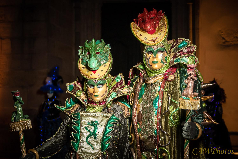 Les dragons verts - Photo C.A Warnier