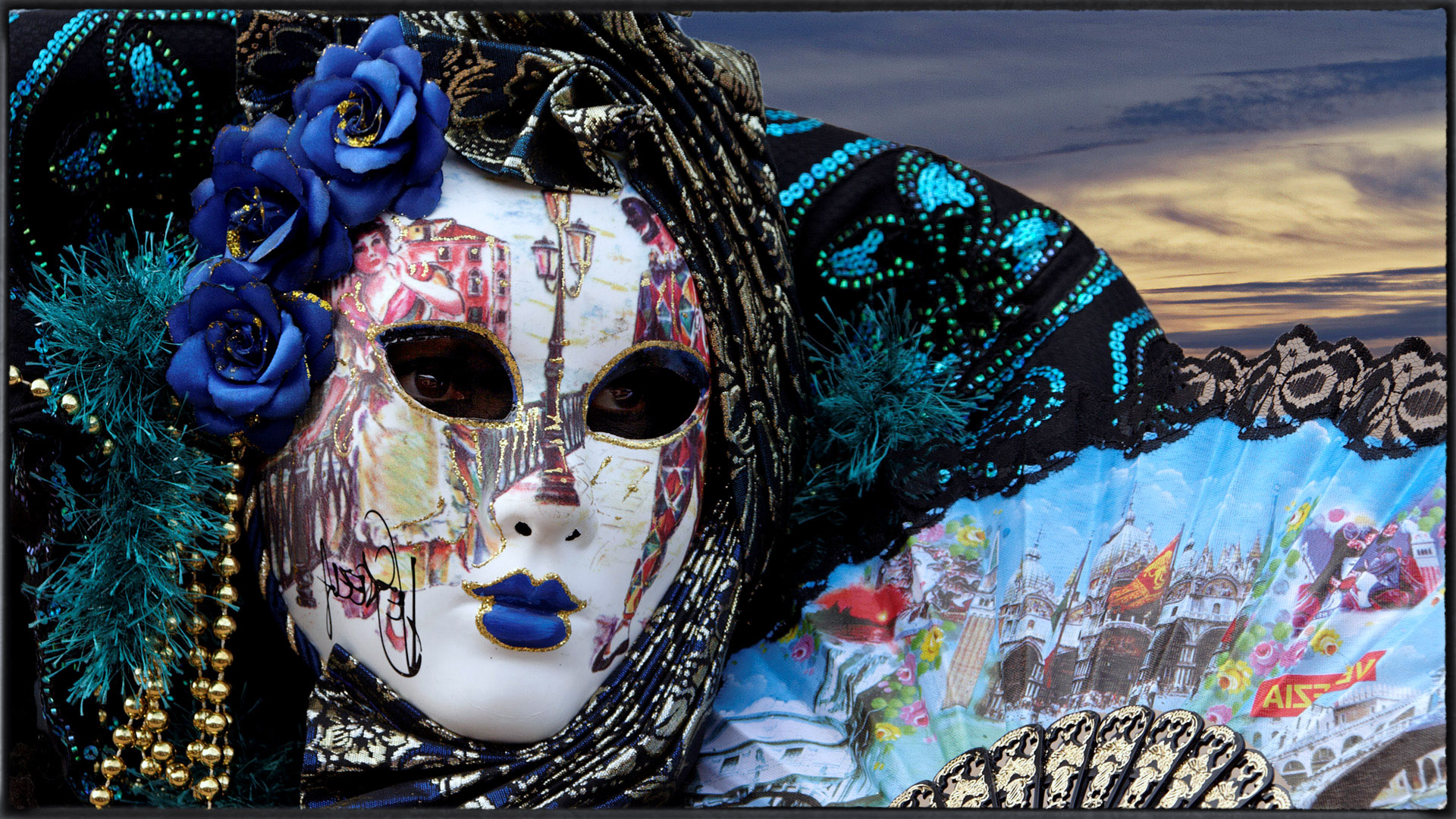 Masque de Venise-Photo J.Monnin