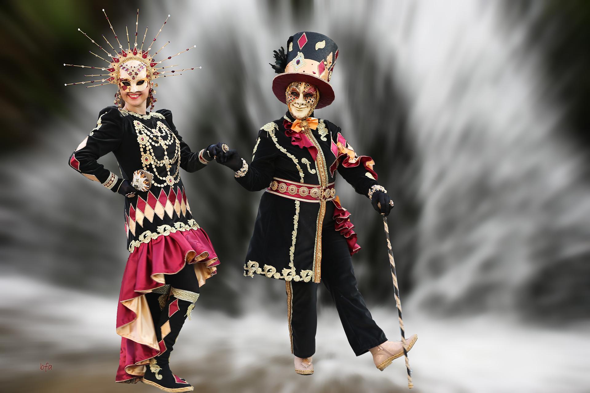 Gaïété sous les masques- Photo Blandine et Francis Aubertin