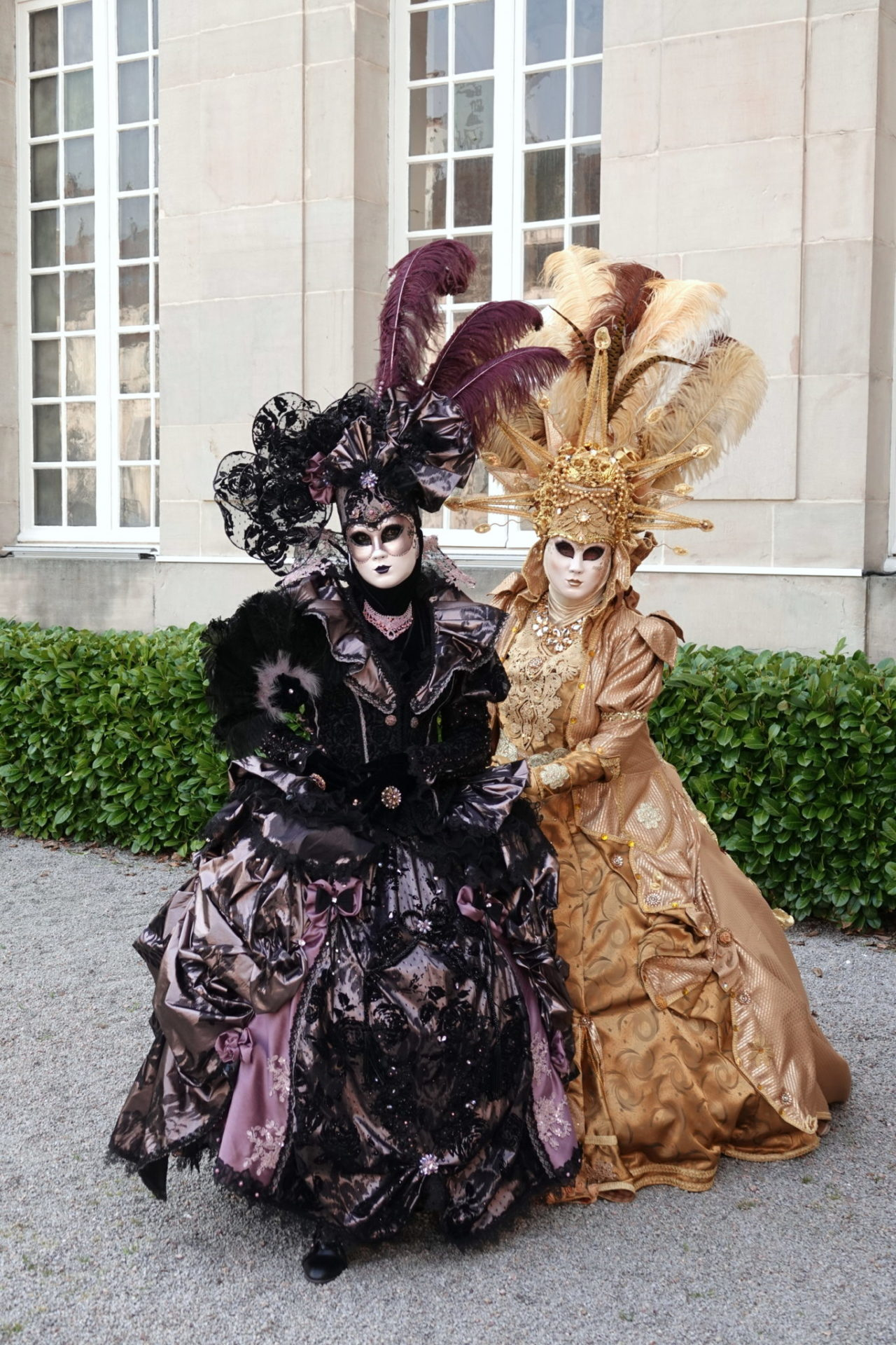 Les élégantes - Photo Ingrid et Arno Martini