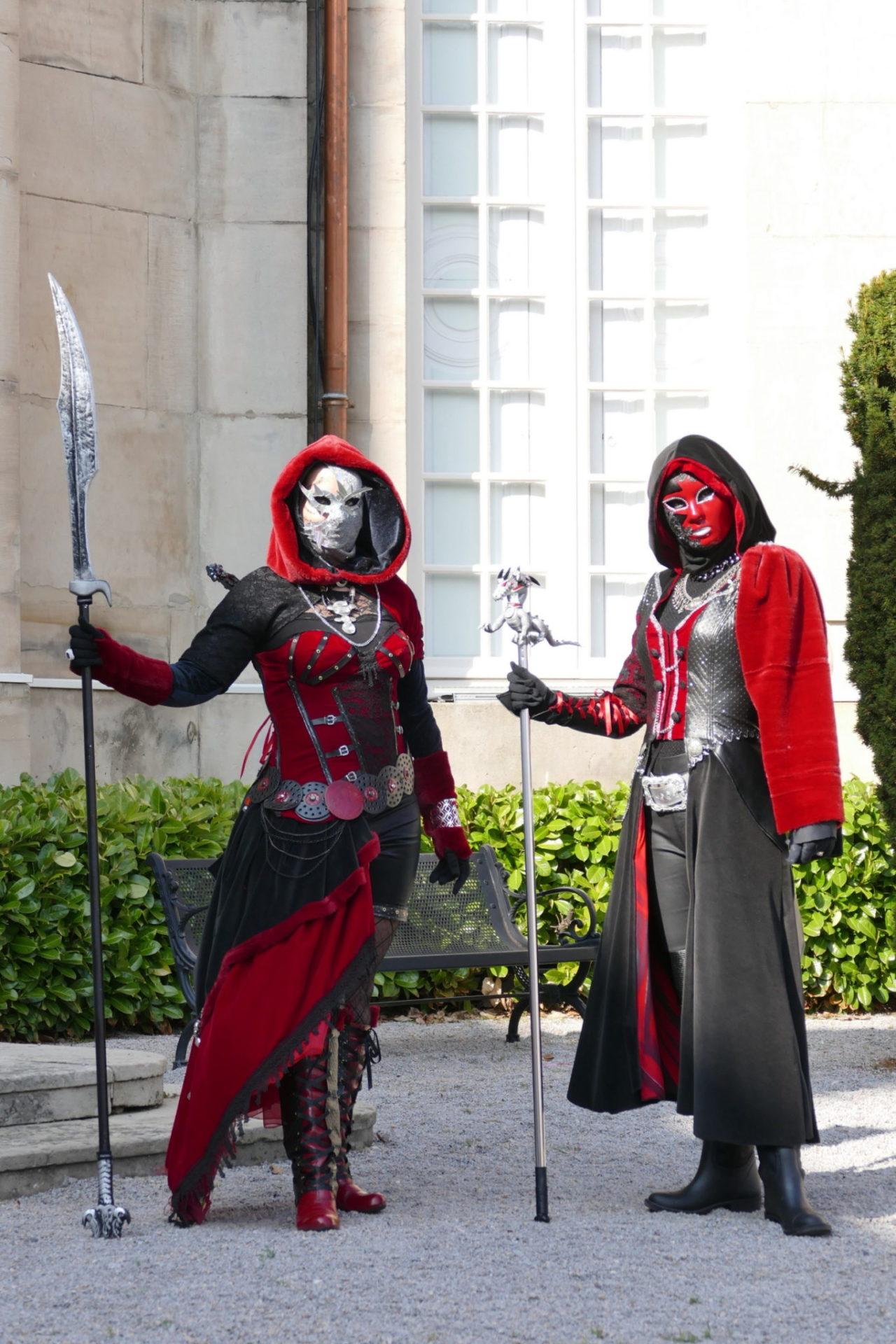Les guerrières - Photo Ingrid et Arno Martini