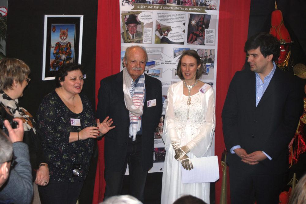 Inauguration Expo 2019 avec Dehphine AUBRY et Etienne GERARD- Photo AL