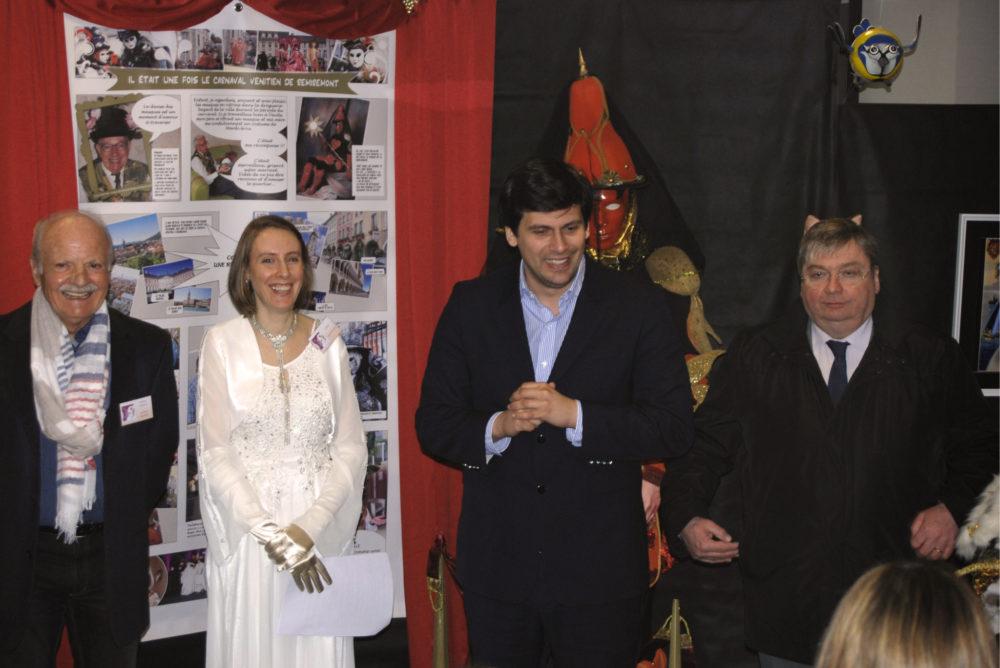 Inauguration avec Jean Hingray et François Vannson - Photo AL