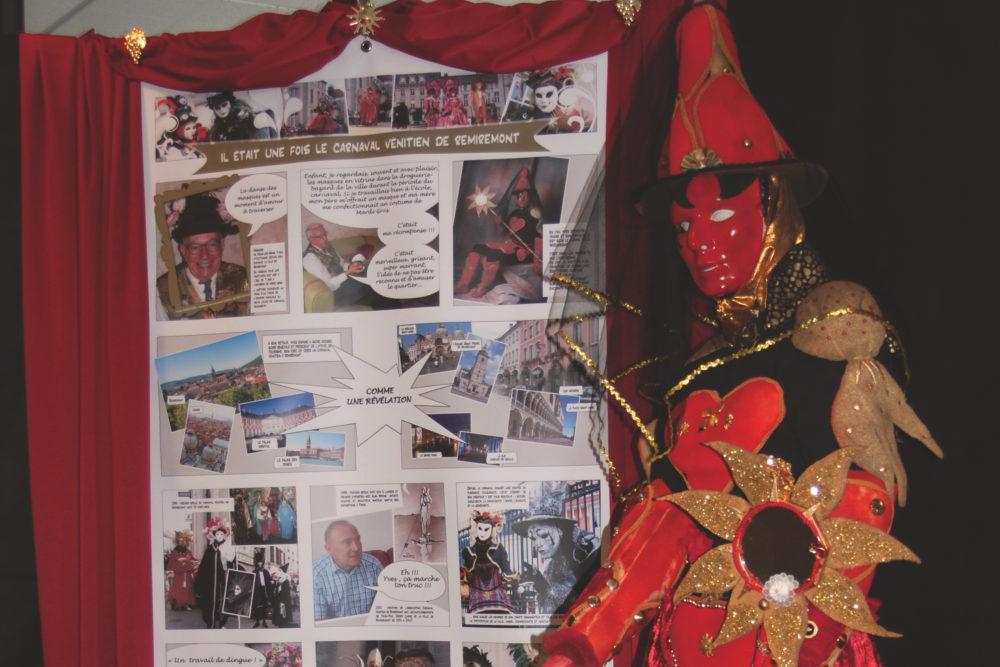 Le 1er costume d'Yves Chrétien et l'histoire des débuts du carnaval - Photo AL