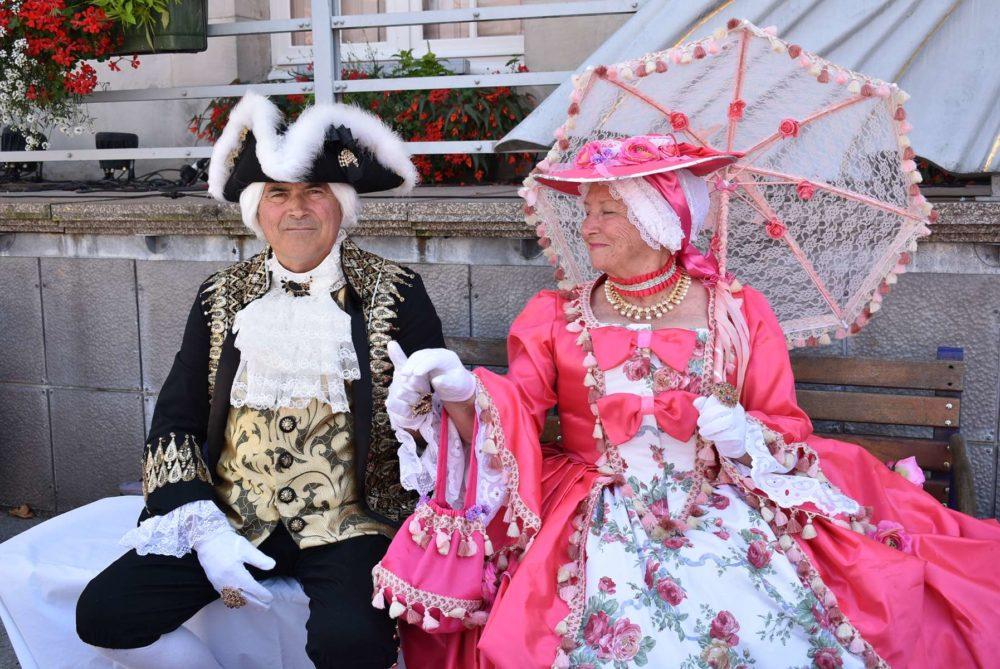 Le marquis de Haut de Sâone et sa dame - Photo Cathy
