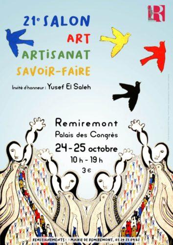 Ville-de-Remiremont-affiche-salon-art-et-artisanat-octobre-2020